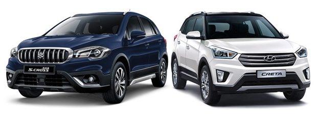 2017 Maruti Suzuki S Cross Vs Hyundai Creta Best Car Warranty